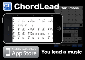 ChordLead for iPhone